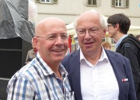 Thomas Burgener et Pierre Métrailler, cabndidats au Conseil des Etats: même combat